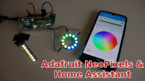 Adafruit NeoPixels and Home Assistant