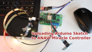 Uploading Arduino Sketch to ANAVI Miracle Controller