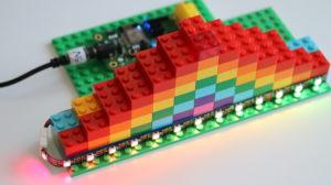 Smart LEGO rainbow