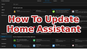 Update Home Assistant