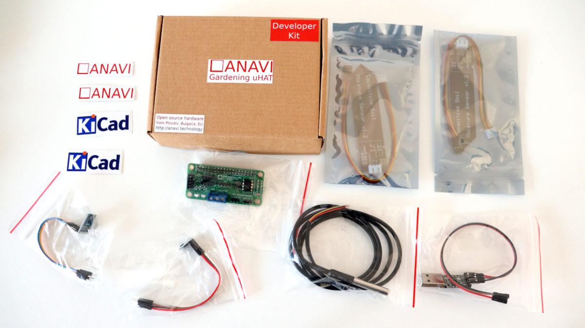 ANAVI Gardening uHAT Developer Kit